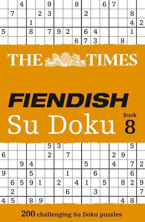 The Times Fiendish Su Doku Book 8