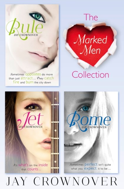 The Marked Men 3-Book Collection: Rule, Jet, Rome