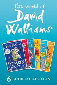 (ebook) The World of David Walliams: 6 Book Collection (The Boy in the Dress, Mr Stink, Billionaire Boy, Gangsta Granny, Ratburger, Demon Dentist) PLUS Exclusive Extras
