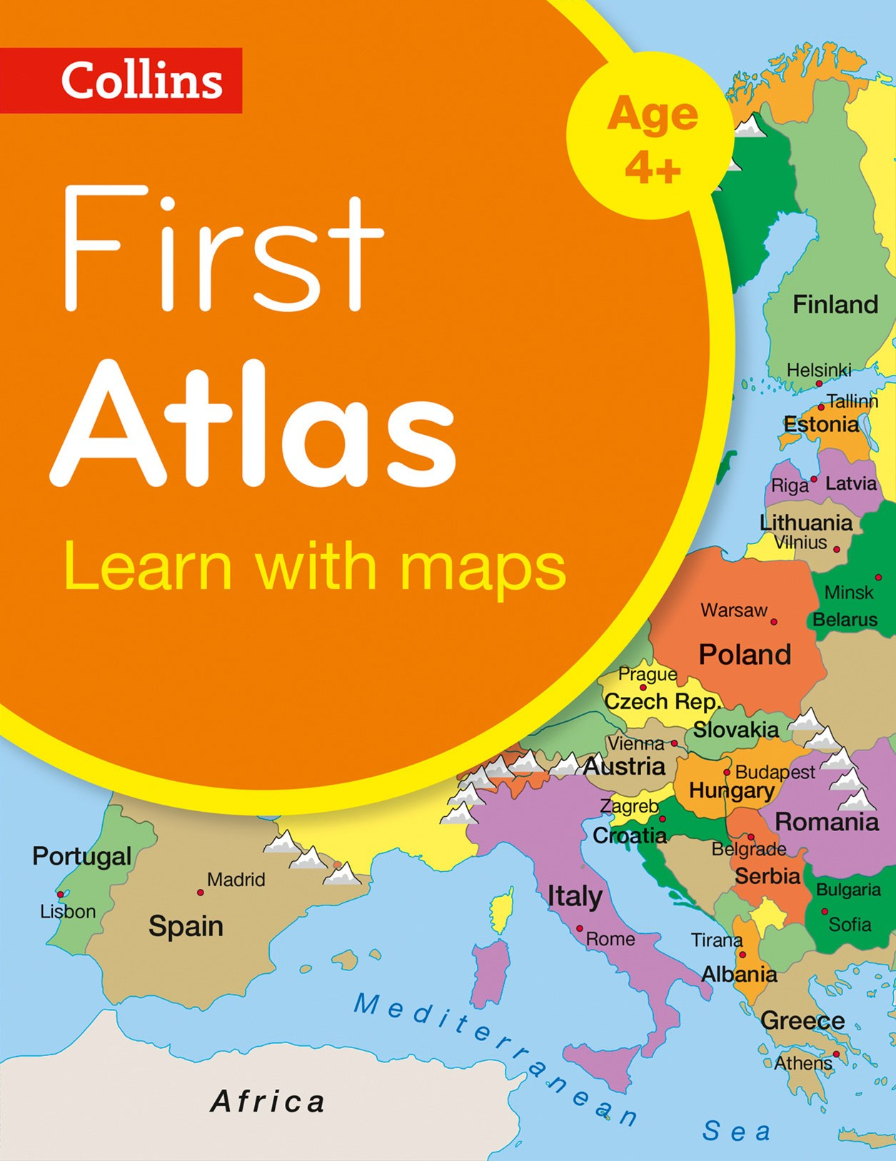 Collins First Atlas: Collins Primary Atlases [2nd Edition]