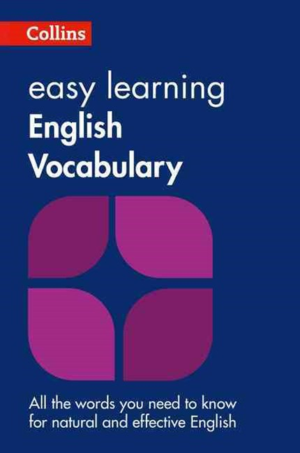 Collins Easy Learning English Vocabulary [Second Edition]