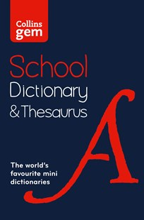 Collins Gem School Dictionary and Thesaurus [2nd Edition] by Collins Dictionaries (9780008102869) - PaperBack - Reference Dictionaries