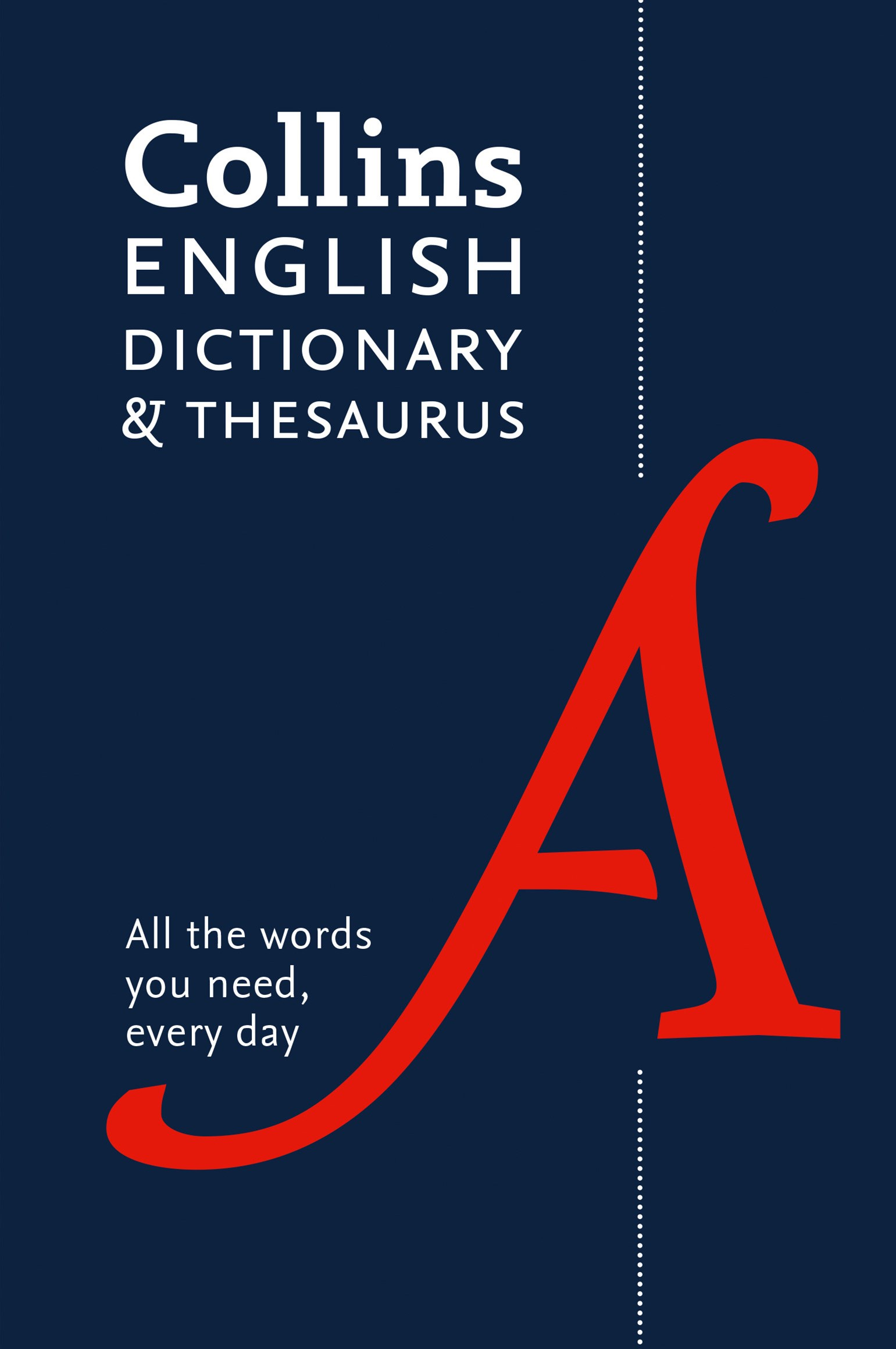 Collins English Dictionary and Thesaurus [5th Edition]
