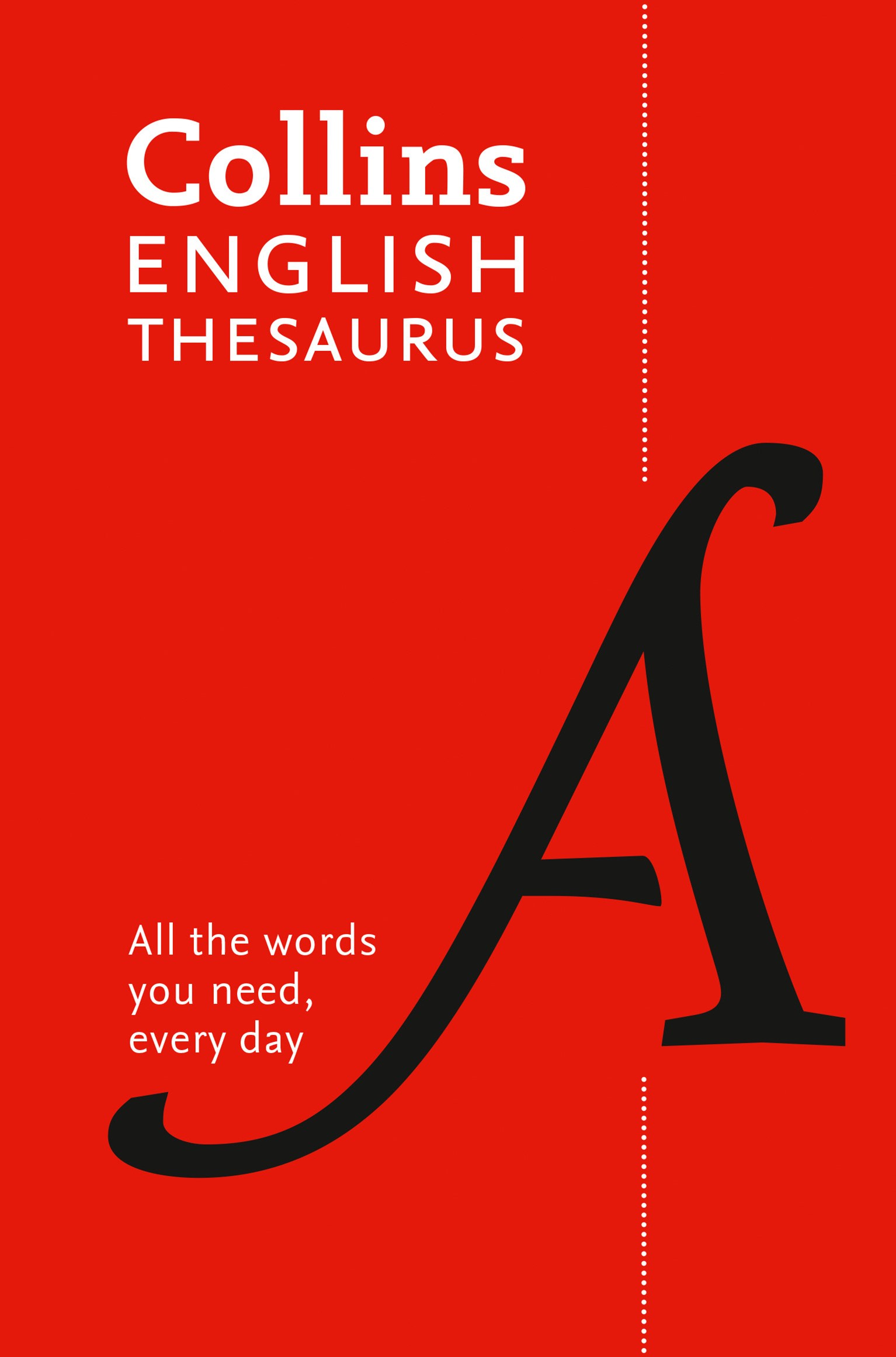Collins Paperback English Thesaurus [7th Edition]