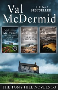(ebook) Val McDermid 3-Book Thriller Collection: The Mermaids Singing, The Wire in the Blood, The Last Temptation (Tony Hill and Carol Jordan) - Crime Mystery & Thriller