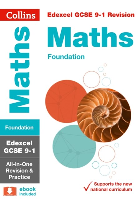 Edexcel GCSE Maths Foundation All-in-One Revision and Practice