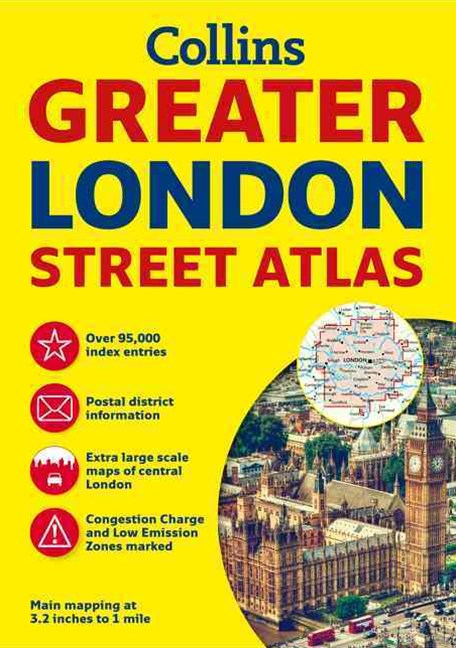 Greater London Street Atlas [New Edition]