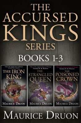 (ebook) The Accursed Kings Series Books 1-3: The Iron King, The Strangled Queen, The Poisoned Crown