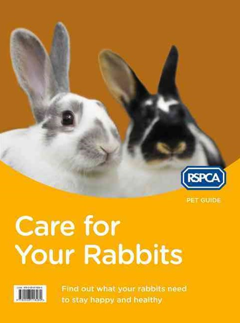 RSPCA Pet Guide: Care For Your Rabbit [New Edition]