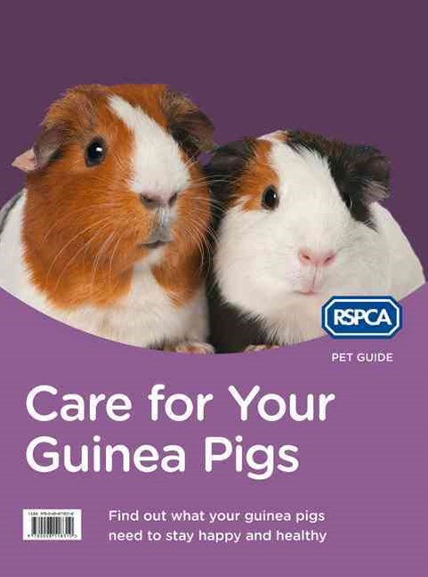 RSPCA Pet Guide: Care For Your Guinea Pig [New Edition]