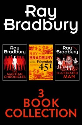 (ebook) Ray Bradbury 3-Book Collection: Fahrenheit 451, The Martian Chronicles, The Illustrated Man