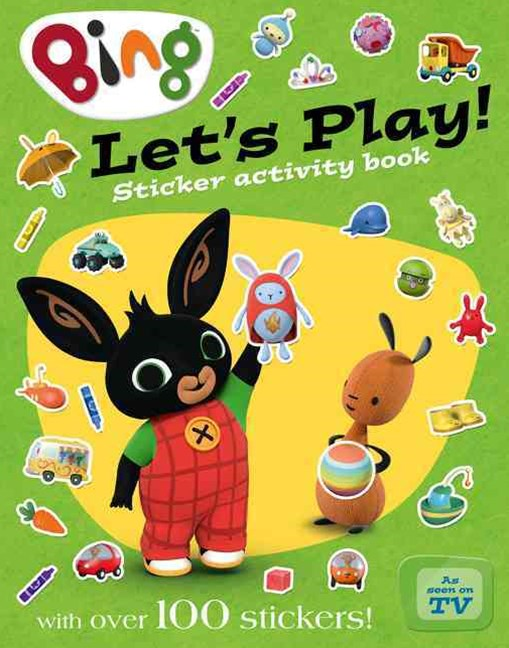 Bing: Let's Play Sticker Activity Book