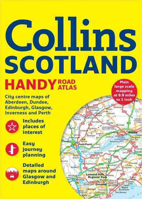 Collins Handy Road Atlas Scotland [New Edition]