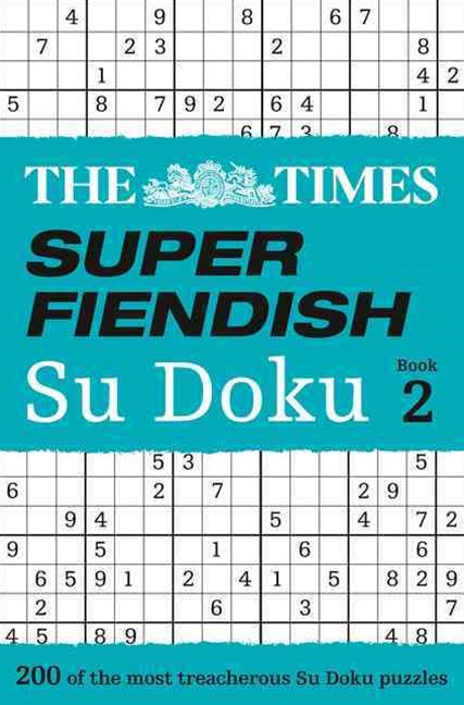 The Times Super Fiendish Su Doku Book 2