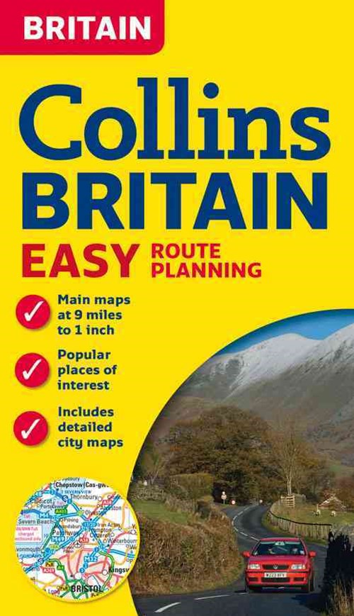 Collins Britain Easy Route Planning Map [new Edition]