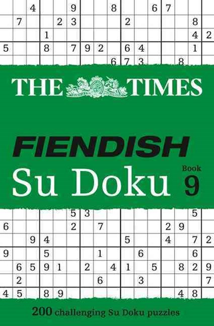 The Times Fiendish Su Doku Book 9