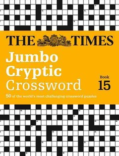 The Times Jumbo Cryptic Crossword Book 15: The World