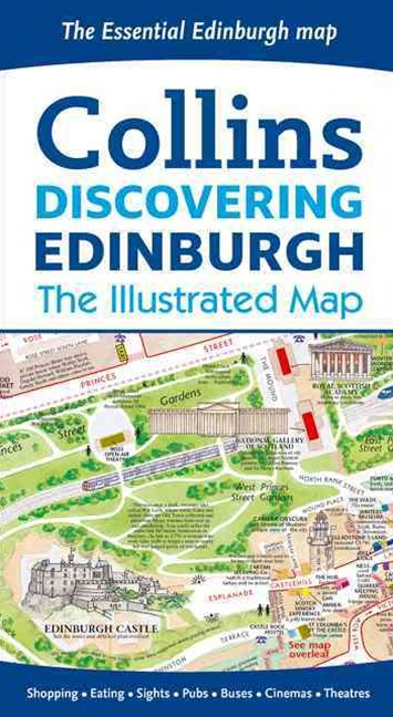 Discovering Edinburgh Illustrated Map [New Edition]