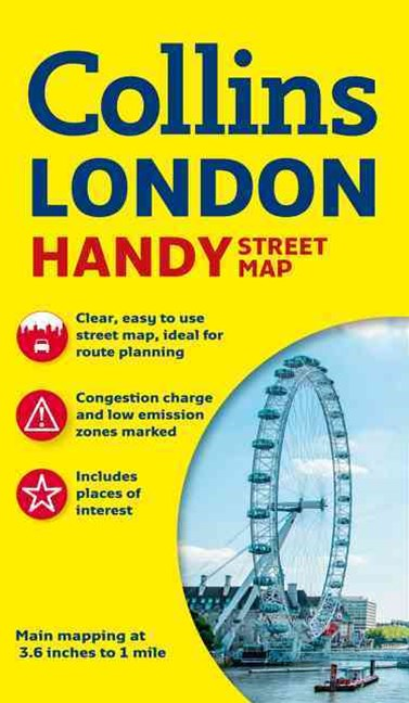 Collins Handy Street Map London [New Edition]