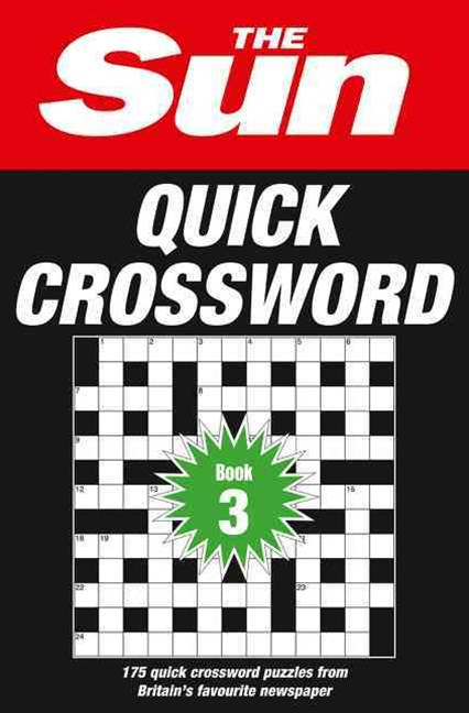 The Sun Quick Crossword Book 3