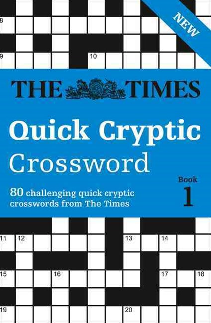 The Times Quick Cryptic Crossword Book 1