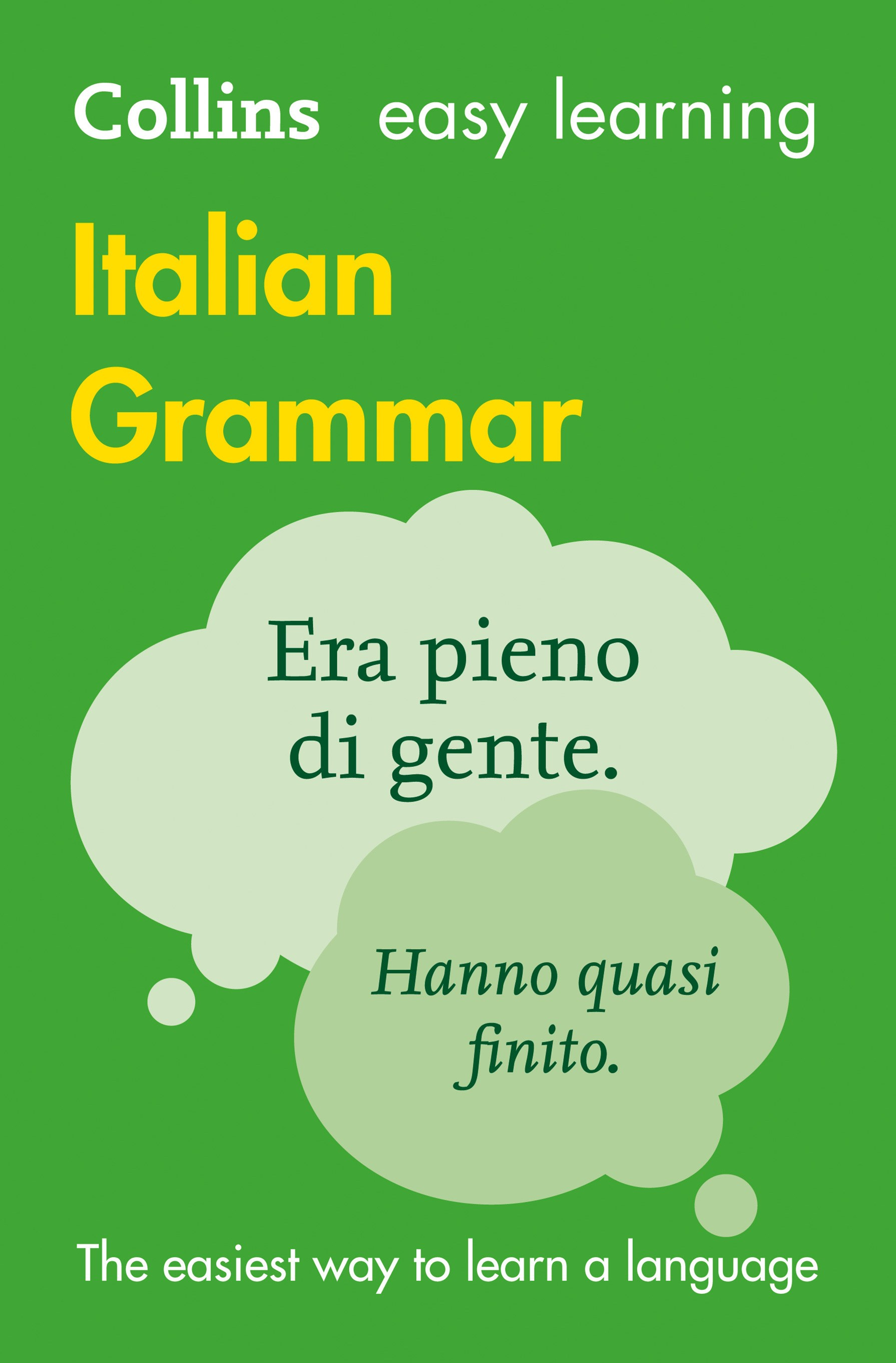 Collins Easy Learning Italian Grammar [3rd Edition]