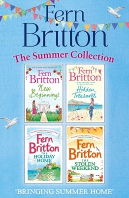 (ebook) Fern Britton Summer Collection: New Beginnings, Hidden Treasures, The Holiday Home, The Stolen Weekend