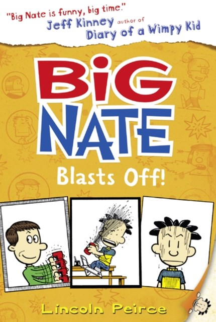 (ebook) Big Nate Blasts Off (Big Nate, Book 8)
