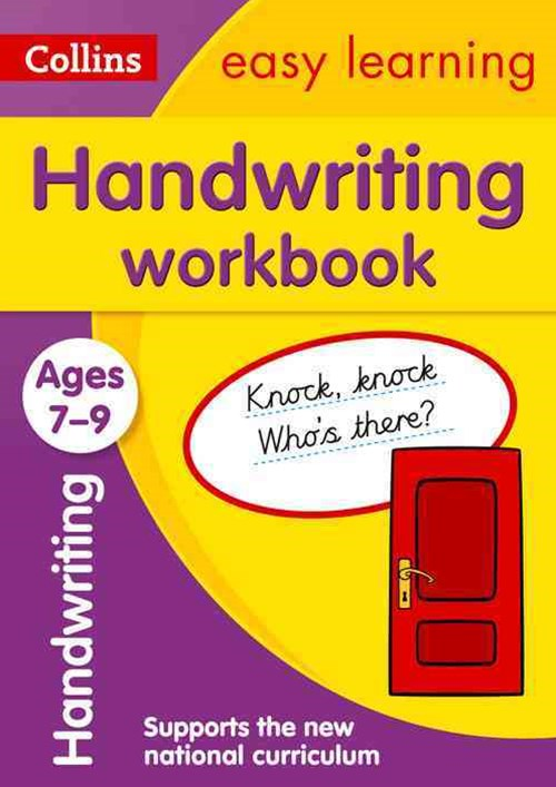 Handwriting Workbook Ages 7-9