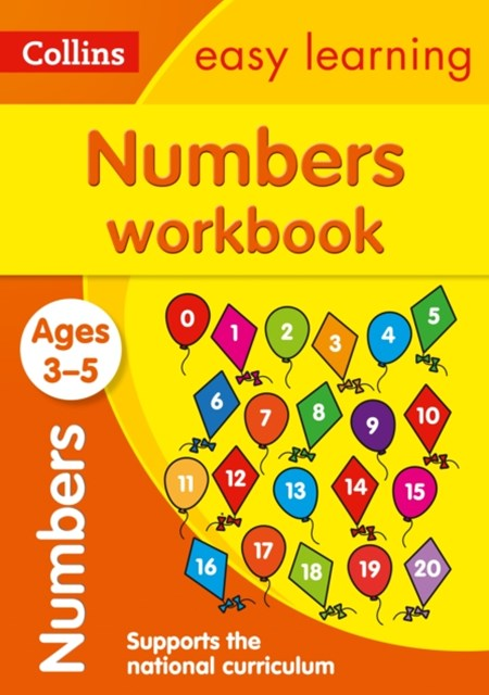 Numbers Workbook Ages 3-5