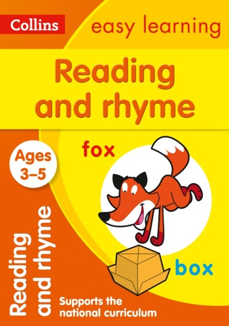 Reading and Rhyme Ages 3-5