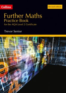 Further Maths Practice Book for the AQA Level 2 Certificate by Trevor Senior (9780008158620) - PaperBack - Education Study Guides