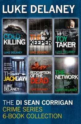 (ebook) DI Sean Corrigan Crime Series: 6-Book Collection: Cold Killing, Redemption of the Dead, The Keeper, The Network, The Toy Taker and The Jackdaw