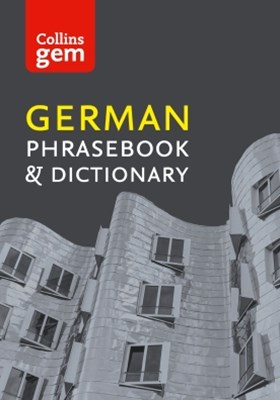 Collins German Phrasebook and Dictionary Gem Edition: Essential phrases and words (Collins Gem)