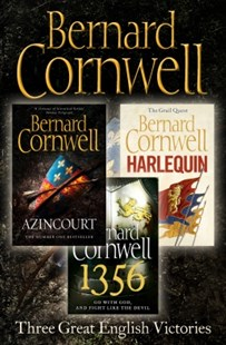 (ebook) Three Great English Victories: A 3-book Collection of Harlequin, 1356 and Azincourt - Adventure Fiction Modern
