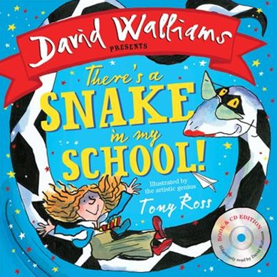 There's a Snake in My School! [Book & CD]