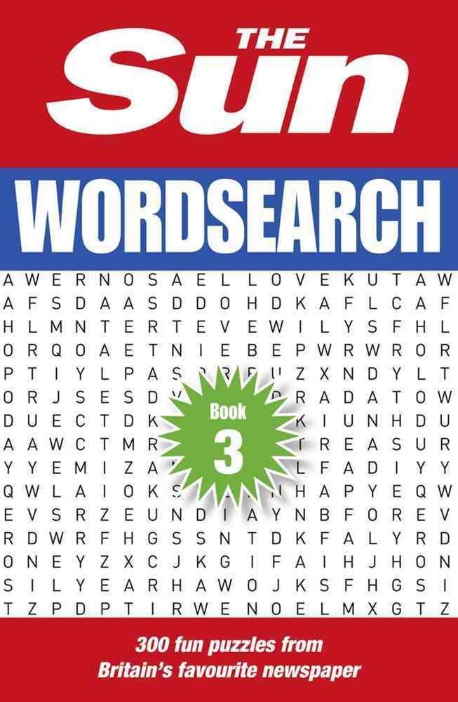 The Sun Wordsearch Book 3: 300 Brain-Teasing Puzzles