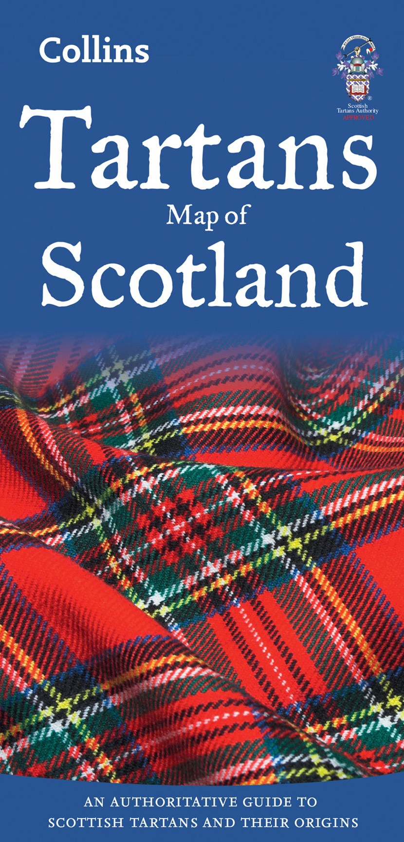 Collins Pictorial Maps - Tartans Map Of Scotland [New Edition]