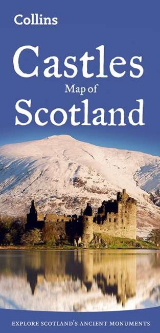 Collins Pictorial Maps - Castles Map Of Scotland [New Edition]