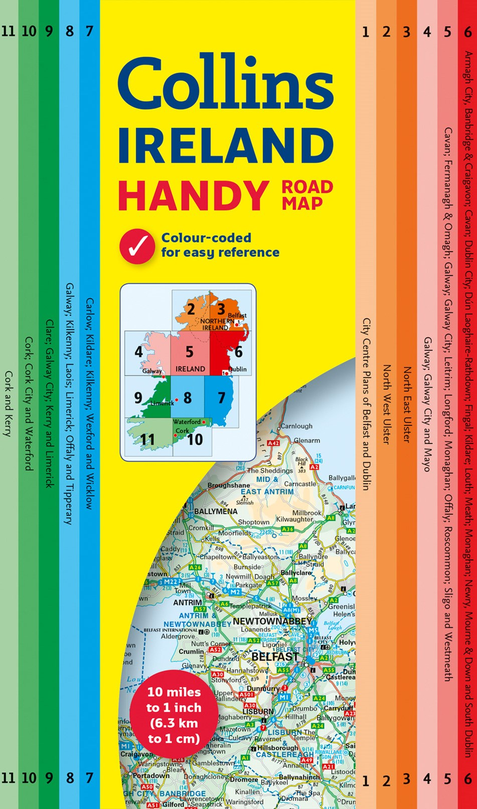 Collins Handy Map Ireland [New Edition]