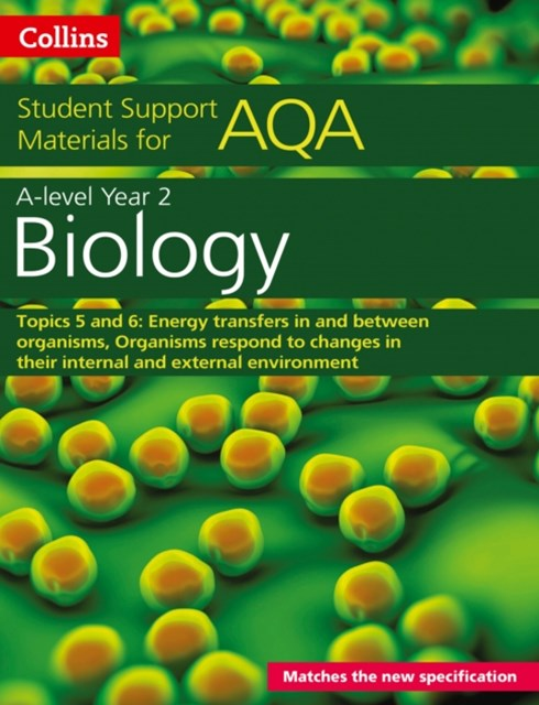 AQA A Level Biology Year 2 Topics 5 and 6