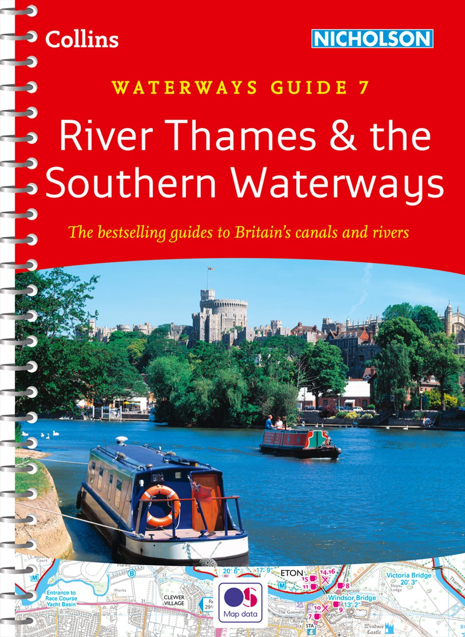 Collins Nicholson Waterways Guides - River Thames And Southern WaterwaysNo. 7 [New Edition]