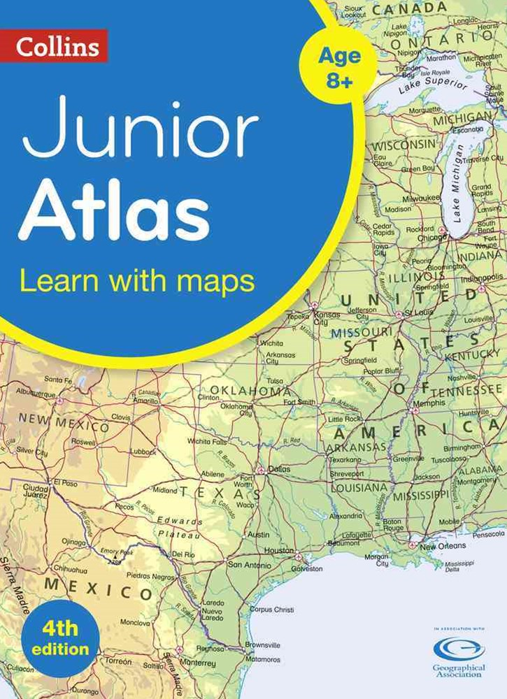 Collins Primary Atlases - Collins Junior Atlas [Fourth Edition]