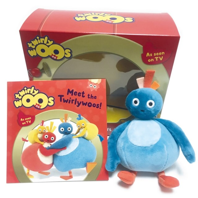 Twirlywoos - Meet The Twirlywoos: Book and Toy Gift Set