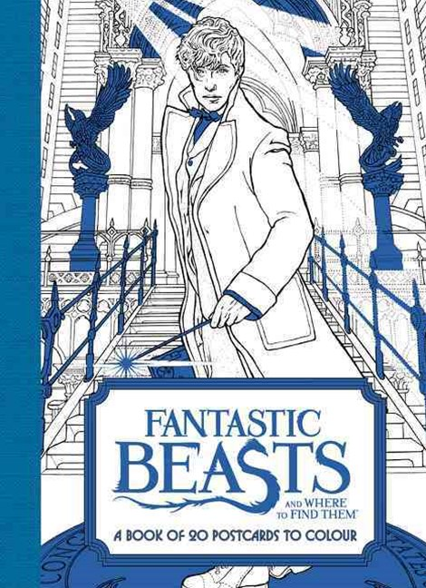 Fantastic Beasts And Where To Find Them: A Book Of 20 Postcards to Colour