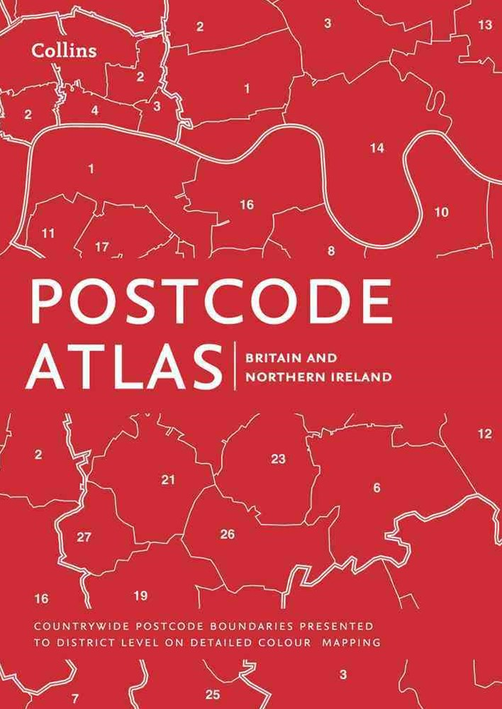 Postcode Atlas Of Britain And Northern Ireland [New Edition]