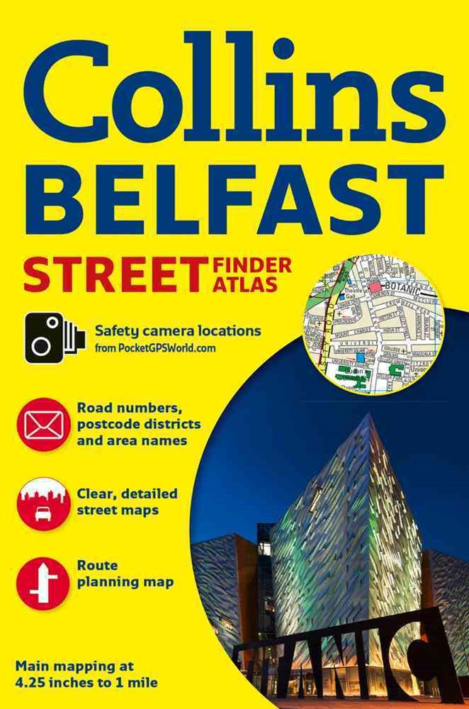 Collins Belfast Streetfinder Colour Atlas [New Edition]