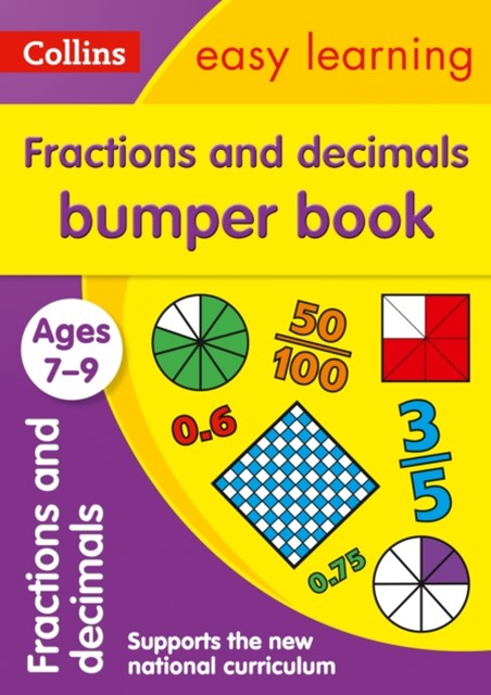 Fractions & Decimals Bumper Book Ages 7-9