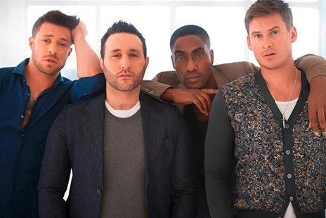 Blue: All Rise: Our Story by Antony Costa, Duncan James, Lee Ryan, Simon Webbe, Caroline Frost (9780008222208) - HardCover - Biographies Entertainment
