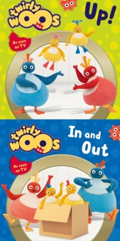 (ebook) Up! & In and Out (Twirlywoos)